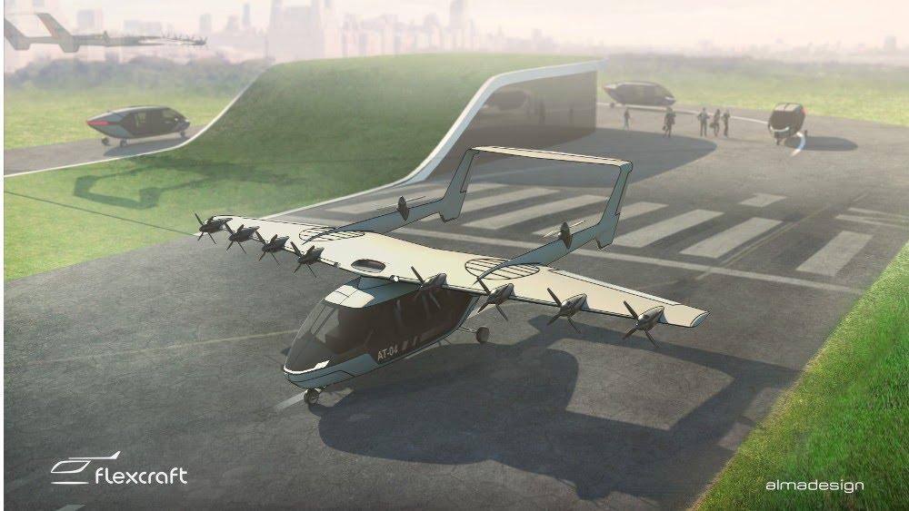 Flexcraft puede cambiar las configuraciones al tener alas independientes que pueden separarse del cuerpo de la aeronave y volar por sí mismas de forma independiente